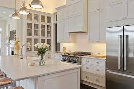 Transitional Kitchen Designs Photo Gallery Built In Hutch Transitional Kitchen Troyer Builders