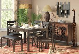 6 Piece Dining Room Sets by World Menagerie Kouaoua 6 Piece Dining Set U0026 Reviews Wayfair