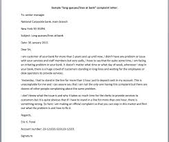 awesome collection of format of complaint letter to bank manager