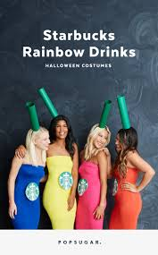 groups costumes for halloween diy starbucks group halloween costume popsugar smart living