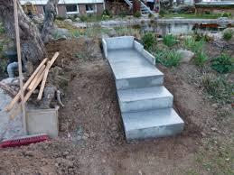 treppen selbst bauen gartentreppe selber bauen 40 beispiele archzine net