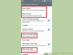 clear history android how to clear android search history 8 steps with pictures