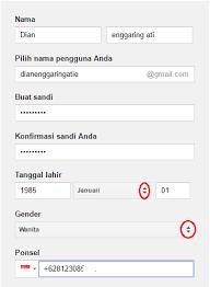 membuat email baru lewat gmail daftar dan buat email baru
