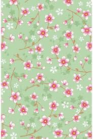 pip studio the official website cherry blossom wallpaper green