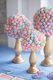 lollipop bouquet lollipop bouquets on gold candle stands pinteres