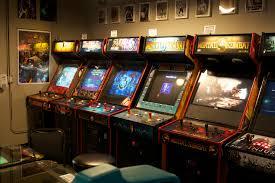 80s arcade room wallpapers