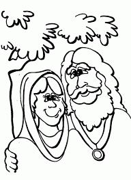 coloring pages sarah abraham coloring