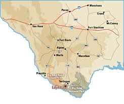 where is terlingua on a map big bend national park towns lajitas golf resort my