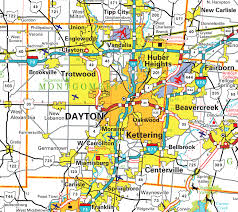 dayton map pages county map