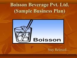 sample business plan food u0026 beverage