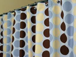 Yellow Brown Curtains Blue Brown And Yellow Shower Curtains Useful Reviews Of Shower