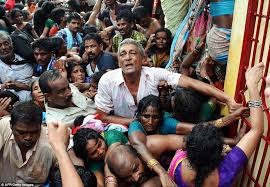 Hidden Camera Bathroom India India Stampede At Pushkaralu Hindu Festival Kills Dozens At