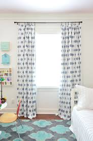 Hemming Tape Curtains Adding U0026 Hemming Breezy Bedroom Curtains Young House Love