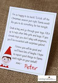 printable elf on the shelf arrival letter elf on the shelf printable arrival letter a special note from the