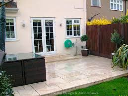 ingenious idea patio garden design patios garden decking decking