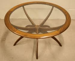 Round Glass Coffee Table by Detail Round Glass Coffee Table Tabletops Legs Shaped Like Spider