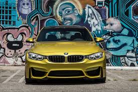 Bmw M3 Automatic - 2015 bmw m3 rear view on track 2015 bmw m3 yellow automatic