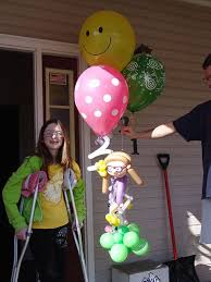 balloon delivery asheville nc this is a custom made balloon sculpture looks just like the girl