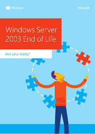 windows server 2003 end of support infographic