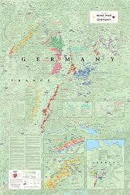 map of regions of germany maps of german wine regions plan and remember your wine adventure