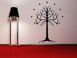 tree of gondor wall lord of the rings house decor my geekery