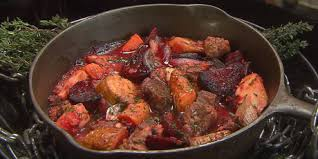 beef and roasted root vegetable stew recipes food network canada