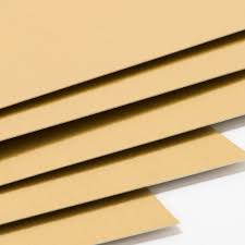 brushed gold gold card stock