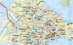venice map location and travel