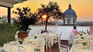 la terrazza restaurant la terrazza dei papi 罌 rome menu avis prix et