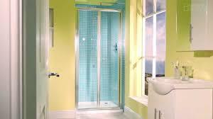 aquafloe 900 bi fold shower door youtube
