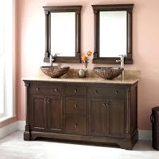 bathroom vanity vessel sink combo antique with cabinet glass sinks