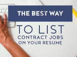 Resume Temporary Jobs by The Best Way To List Contract Jobs On Your Resume The Centrics Group