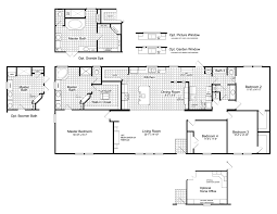 New Homes Floor Plans The Canyon Bay Ii Ft32764c Manufactured Home Floor Plan Or Modular