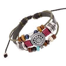 bead bracelet european images European handmade braided vintage style bracelet free shipping jpg
