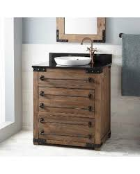 Reclaimed Wood Vanity Table Deal Alert