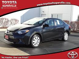 modified toyota corolla certified pre owned toyotas toyota of naperville