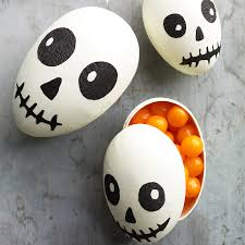 spooky skull treat boxes martha stewart