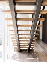 Stainless Steel Stairs Design Double Stringer Steel Staircases With Wood Treads In Nyc U0026 Ct