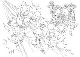 coloriages dragon ball z 9 dragon ball z coloring pages