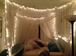 Diy Canopy Bed Bed Canopy With Lights For Bed Girls Bed Canopy With Lights