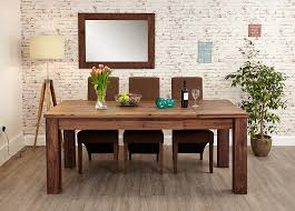 Extending Dining Tables Baumhaus Mayan Walnut Extending Dining Table Amazon Co Uk