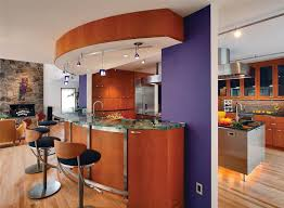 Open Kitchen Island Designs Stunning Open Kitchen Design Specialized For Farmhouse Model