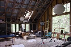 Home Loft Office The Home Office Robert Swinburne Vermont Architect