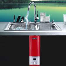 under the sink instant water heater tankless kitchen basin faucet water heater under sink instant