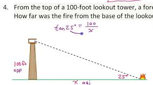 Basic Math Word Problems Worksheets Applications Of Trigonometric Ratios Word Problems Involving