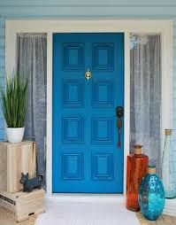 turquoise blue paint front door paint modern masters cafe blog