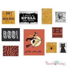 halloween gallery wall art prints free printable hazel u0026 ruby