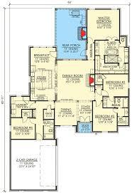 4 Bedroom Open Concept Floor Plans Open Concept 4 Bed Acadian House Plan 56406sm Architectural