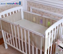 breathable crib bumpers savvy baby mesh crib bumper 6pcs baby
