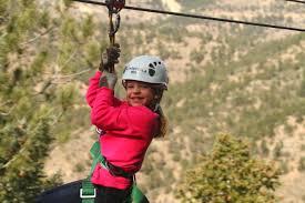 ziplining with kids colorado zipline